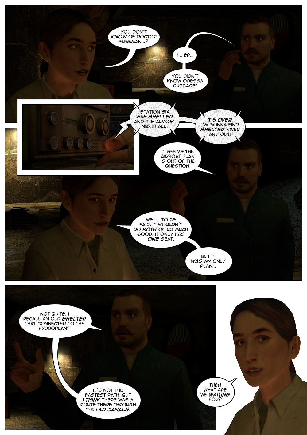 The Adventures of Hercule Cubbage Chapter 2 Page 06