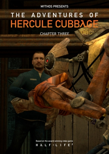 The Adventures of Hercule Cubbage Chapter 3 Cover