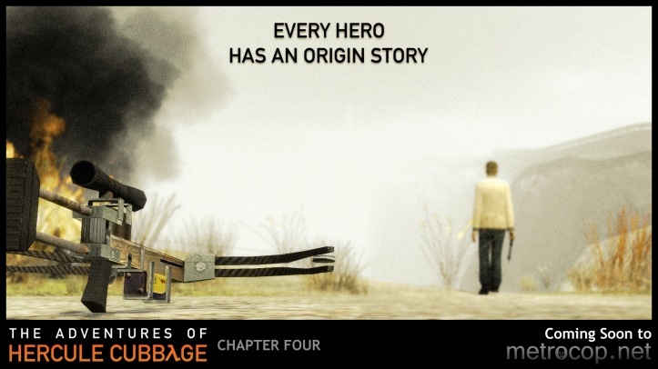 """Every hero has an origin story"""