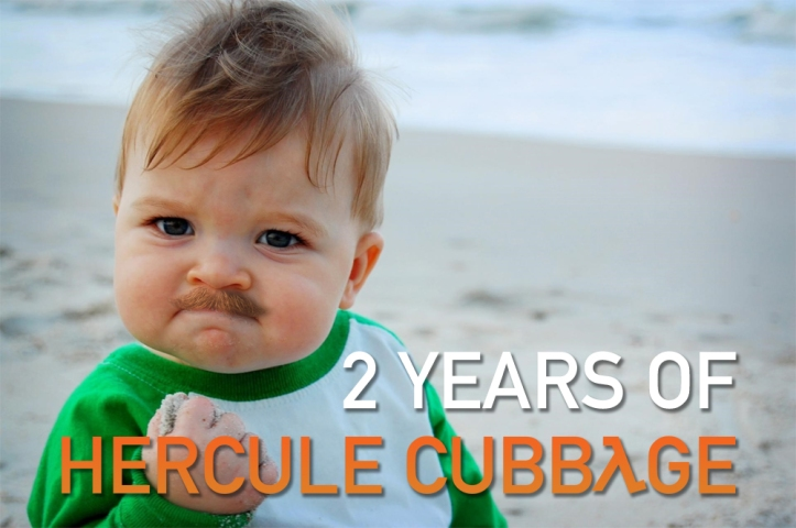 2 Years of Hercule Cubbage