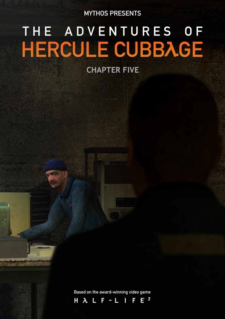 The Adventures of Hercule Cubbage Chapter 5 Cover