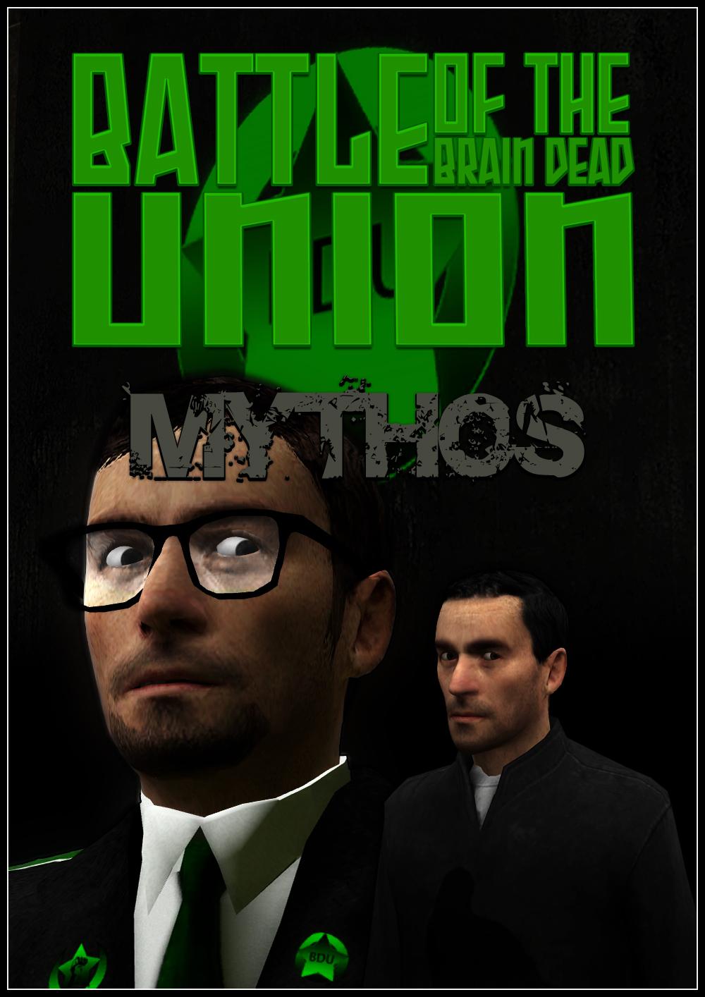Battle of the Brain Dead Union: Mythos Cover