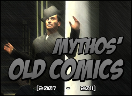 Mythos' Old Comics Banner