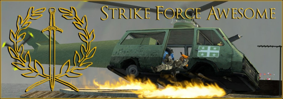 Strike Force Awesome Header