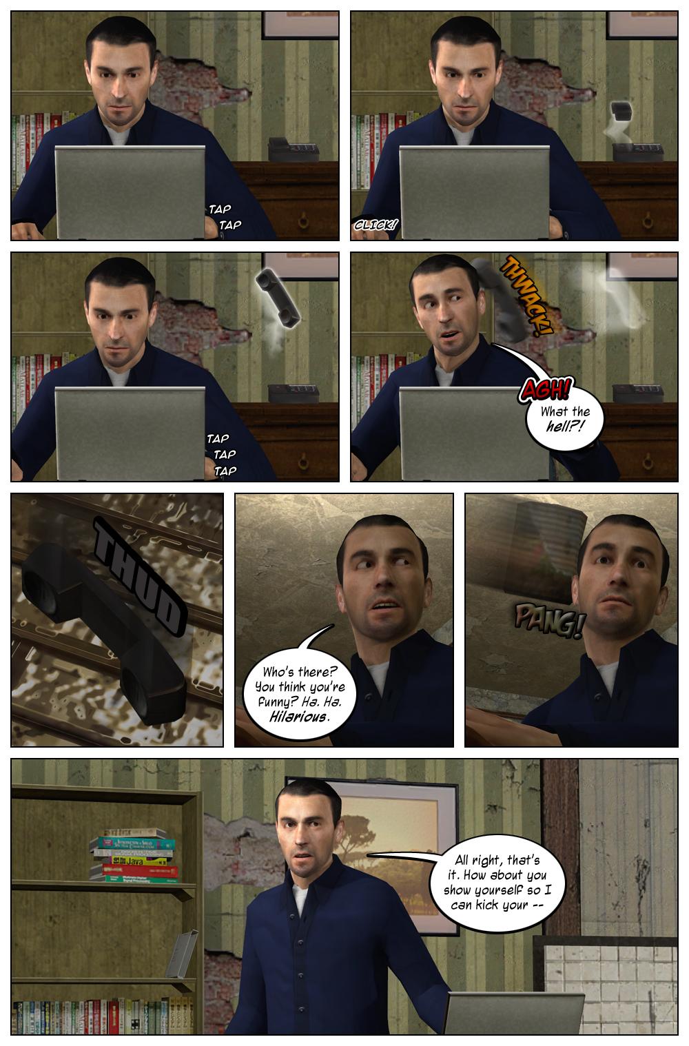 Mythic Comics 1 Page 3