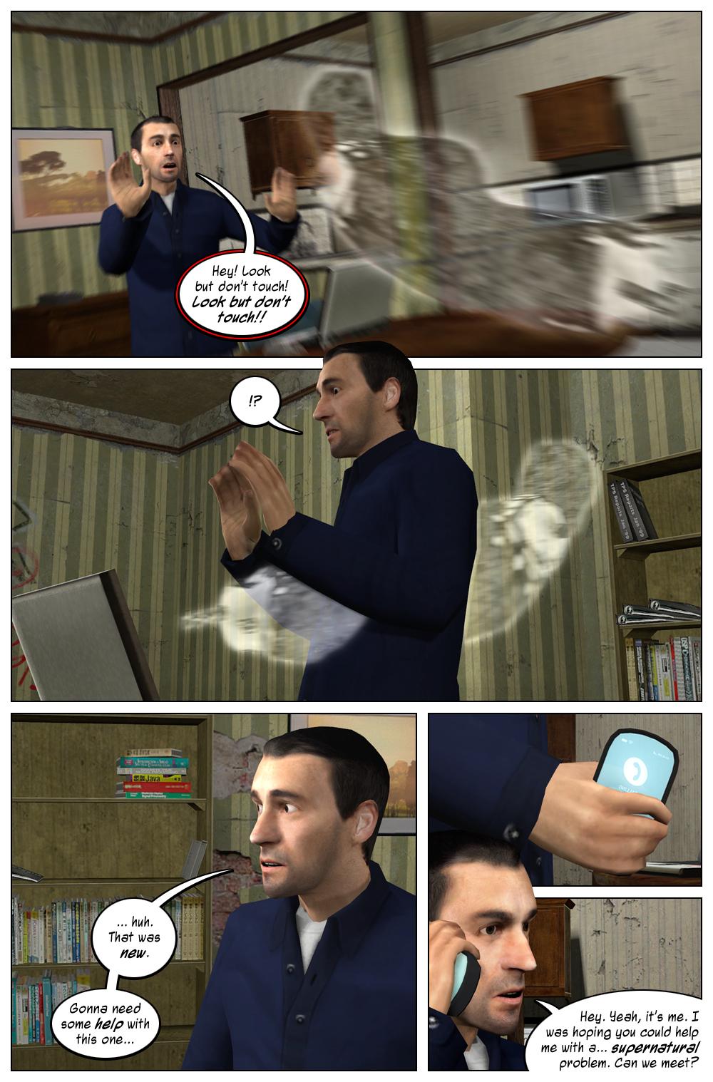 Mythic Comics 1 Page 5