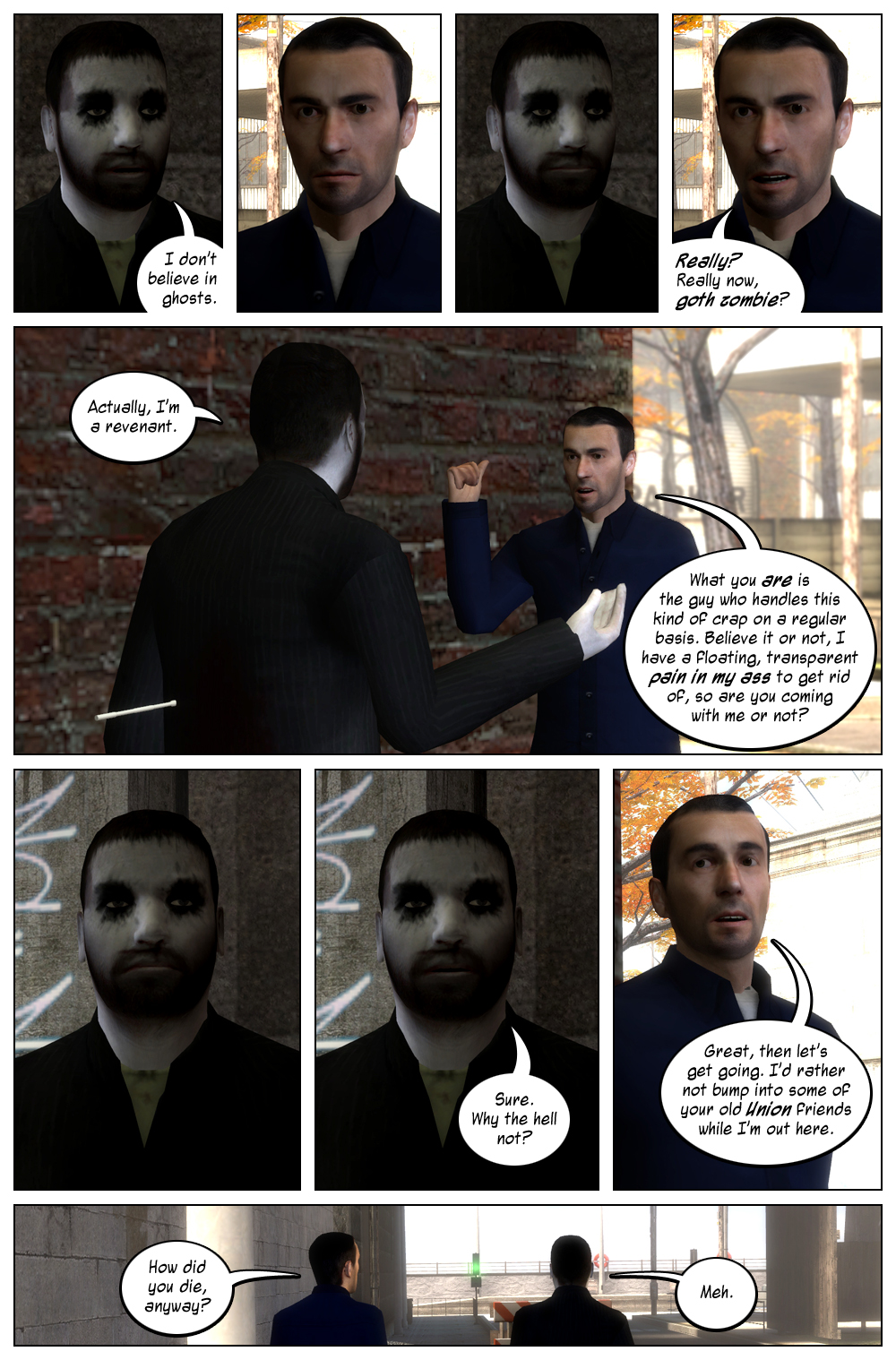 Mythic Comics 1 Page 8