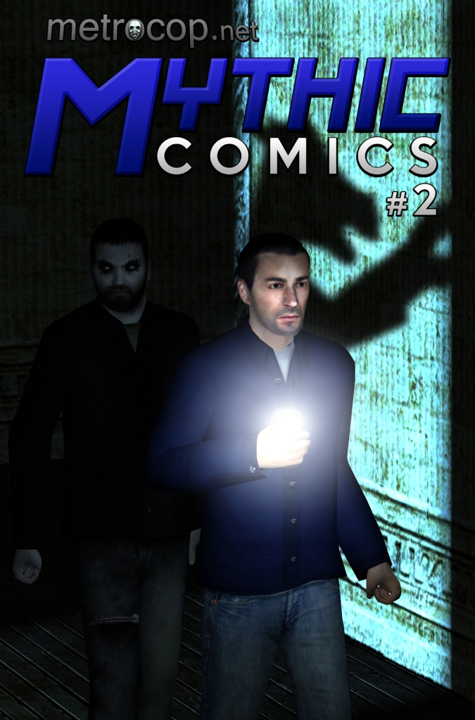 Mythic Comics #2 Cover