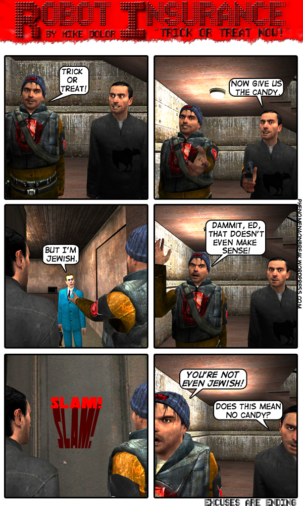 Robot Insurance #5