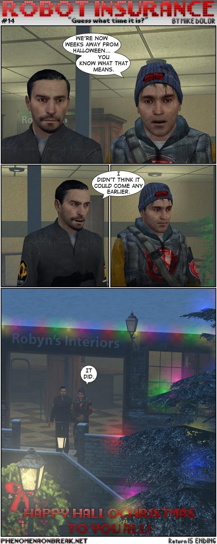 Robot Insurance #14