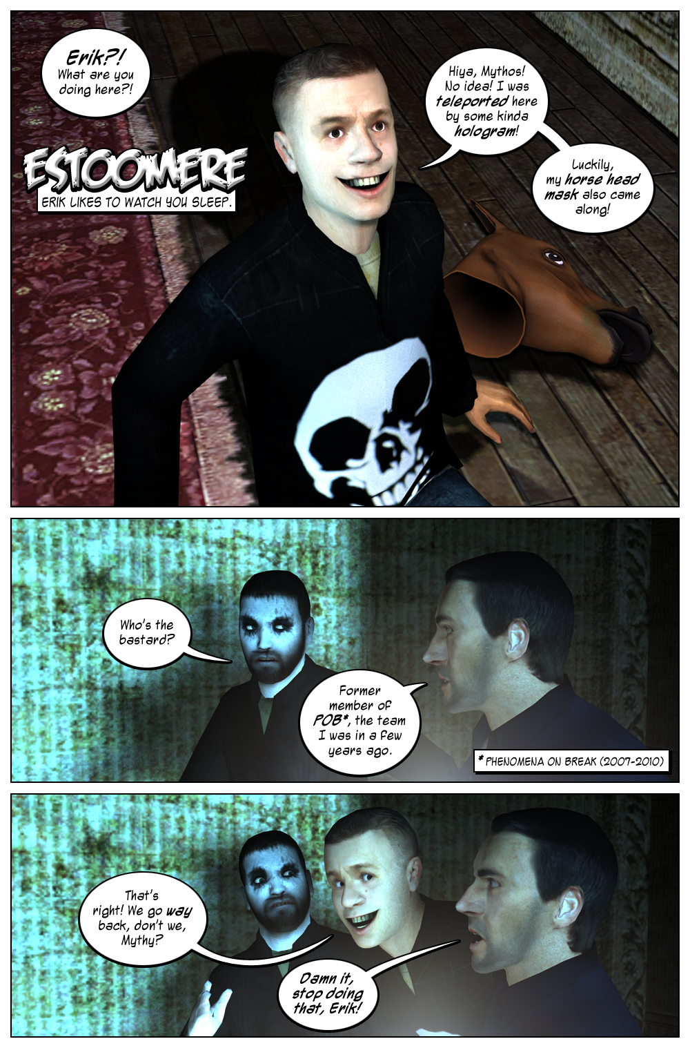 Mythic Comics #2 Page 9