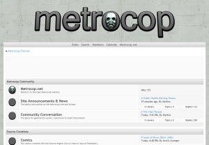 Metrocop Forums - Metrocop Theme