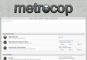 Metrocop Forums - Metrocop Theme