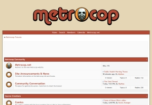 Metrocop Forums - PHW Theme