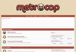 Metrocop Forums - PHW Theme