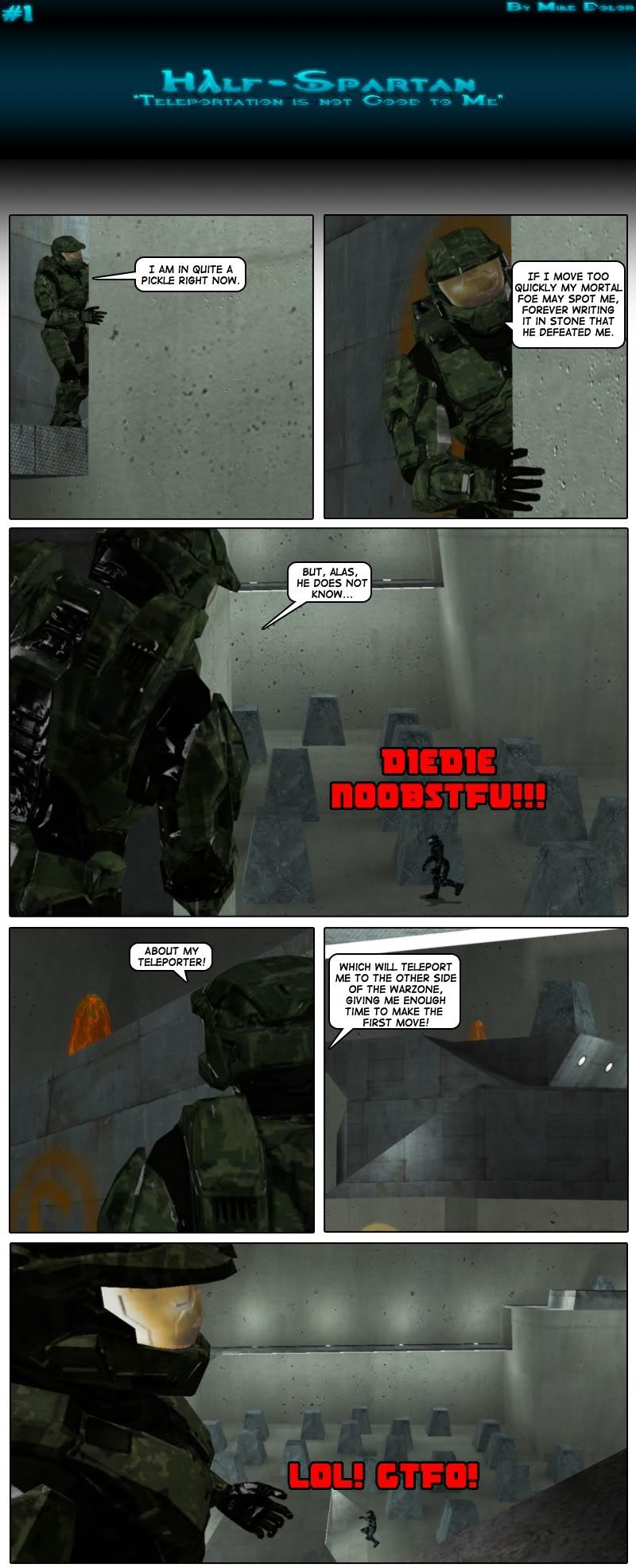 Half-Spartan #1 Page 1