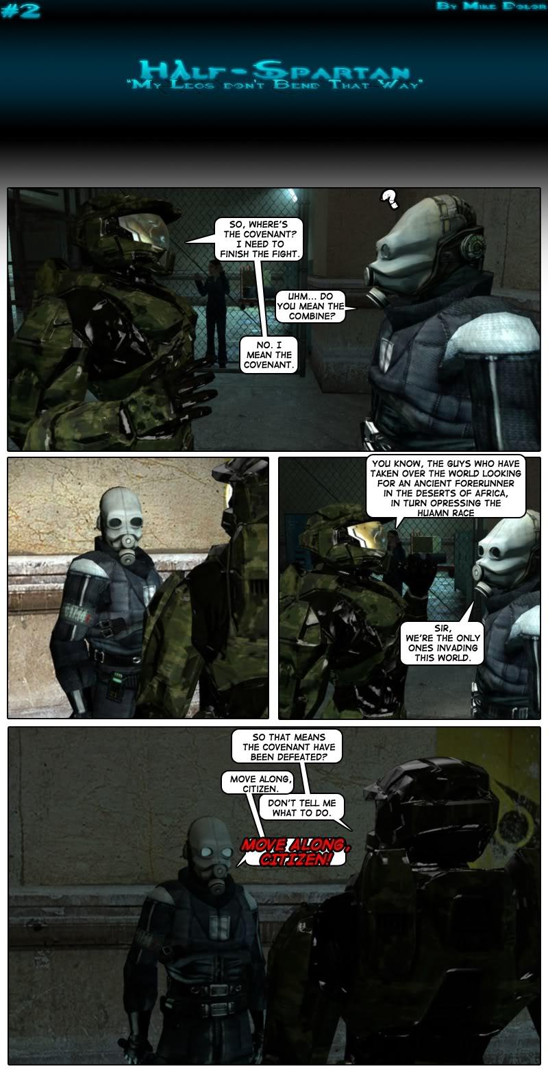 Half-Spartan #2 Page 1