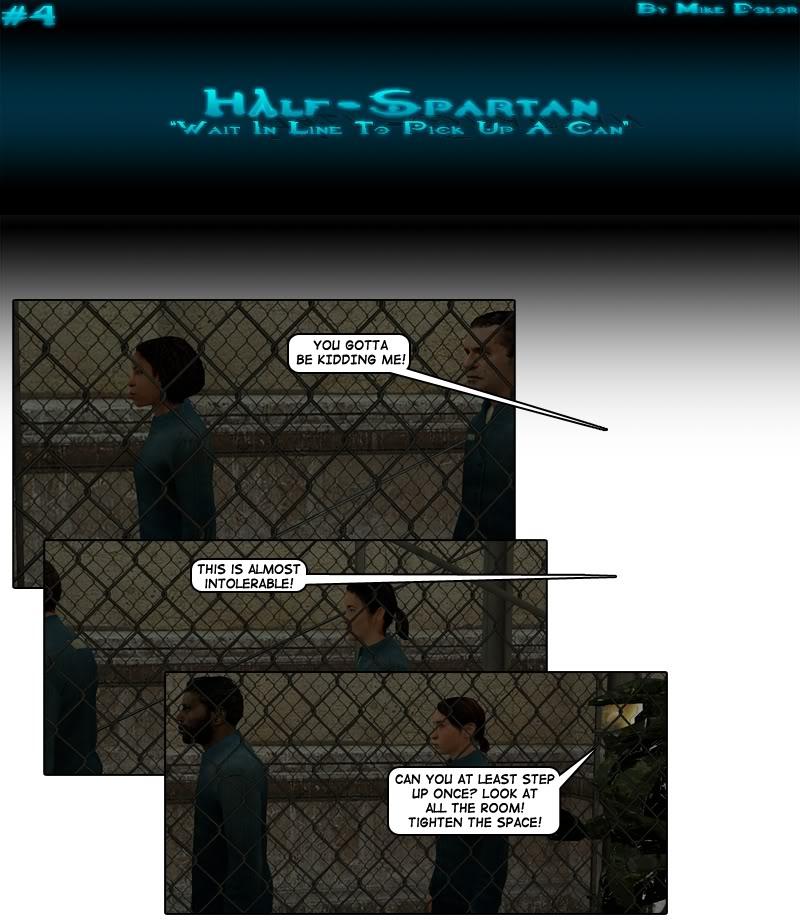 Half-Spartan #4 Page 1