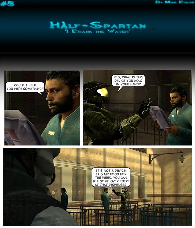 Half-Spartan #5 Page 1