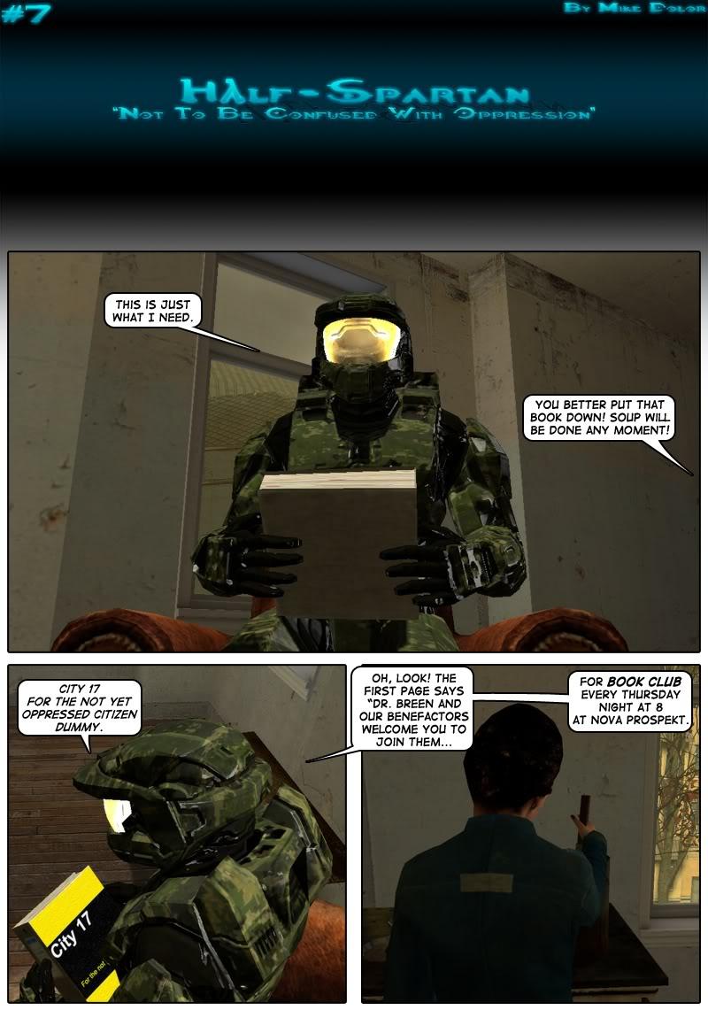 Half-Spartan #7 Page 1
