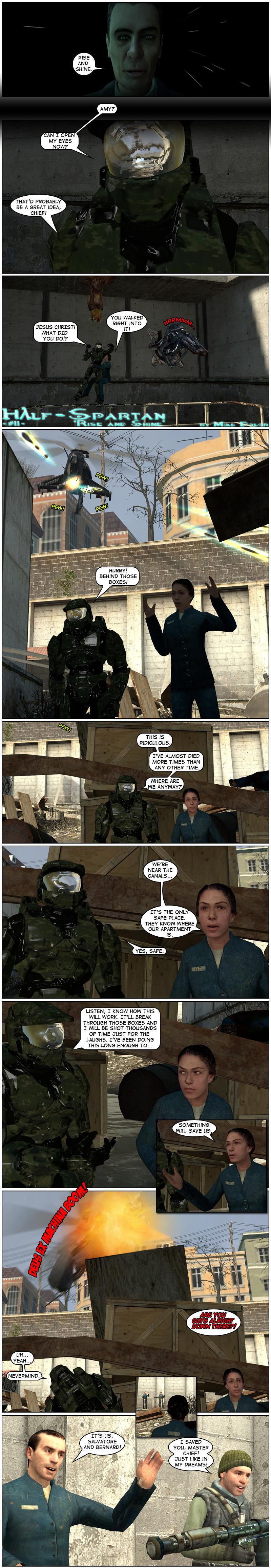 Half-Spartan #11 Page 1