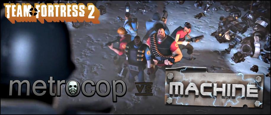 Metrocop vs Machine