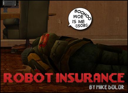 Robot Insurance Banner