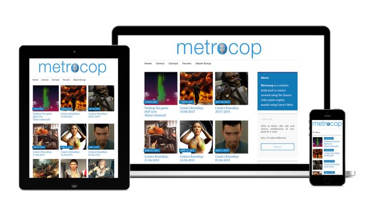 Responsive Metrocop Design