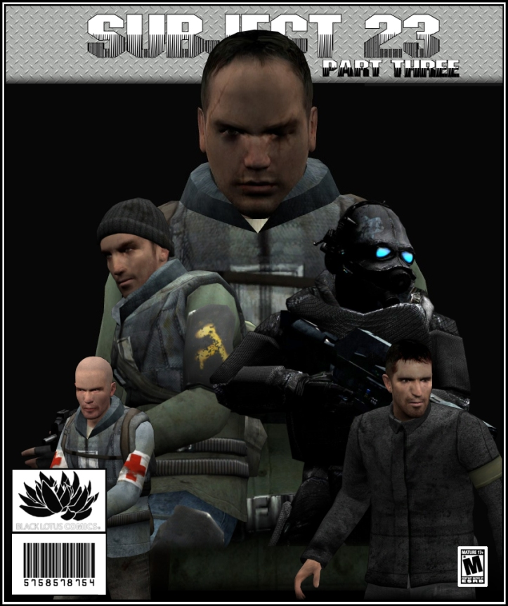 Subject 23 Part Three Cover