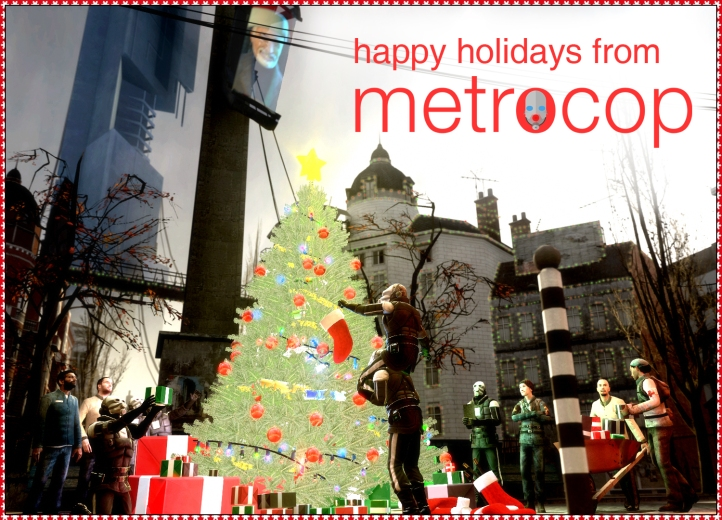 Happy Holidays from Metrocop