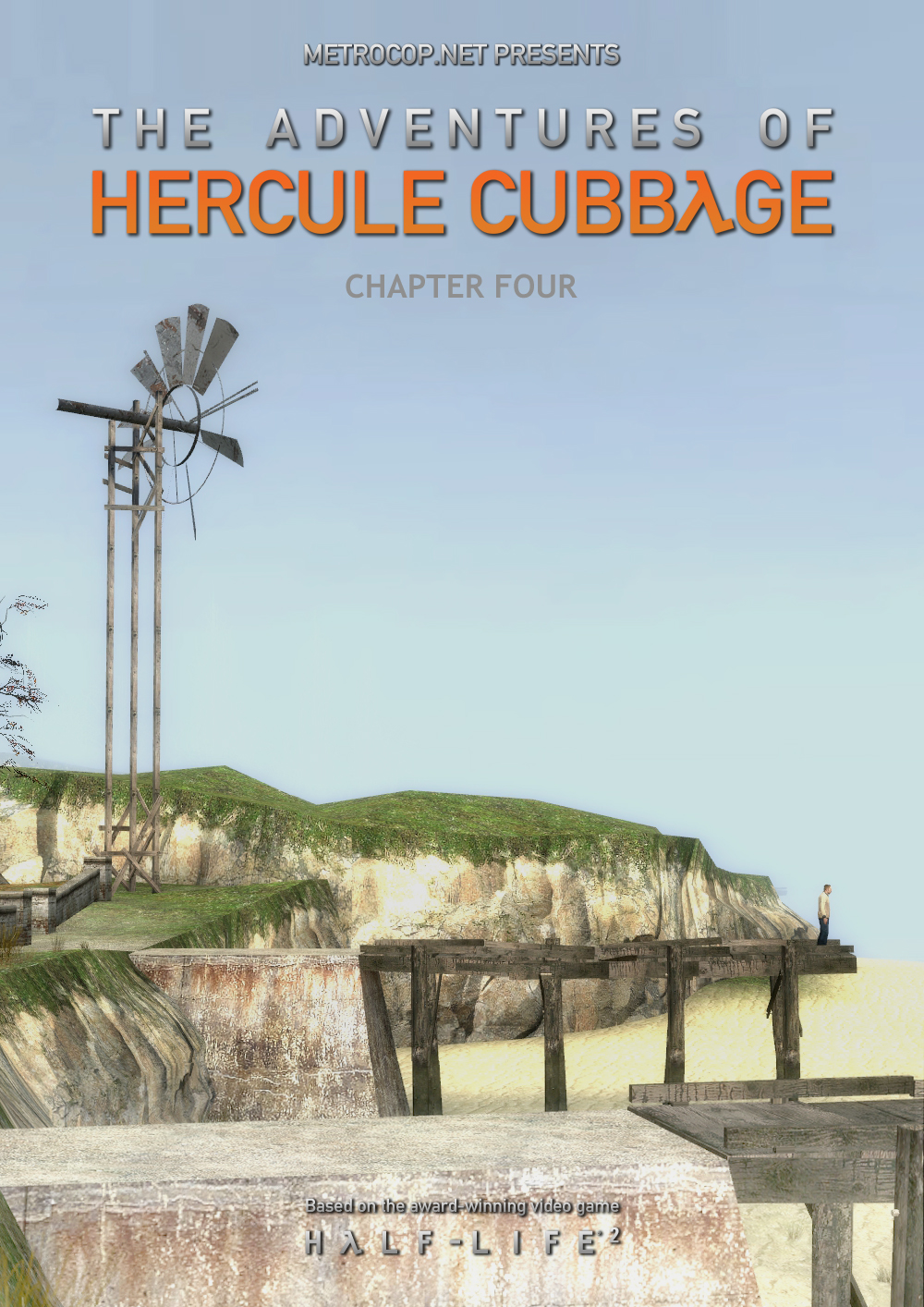 The Adventures of Hercule Cubbage Chapter 4 Cover
