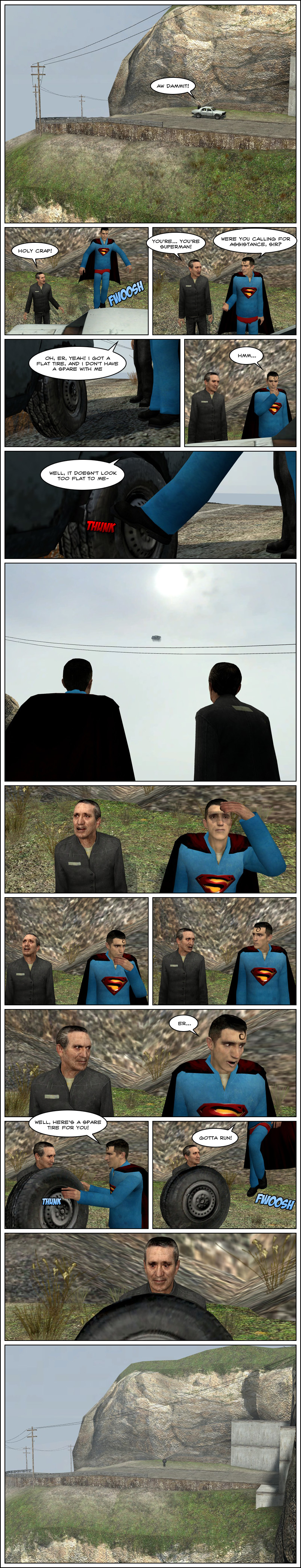 Superman Service Part 1