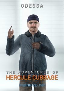 The Adventures of Hercule Cubbage Poster - Odessa