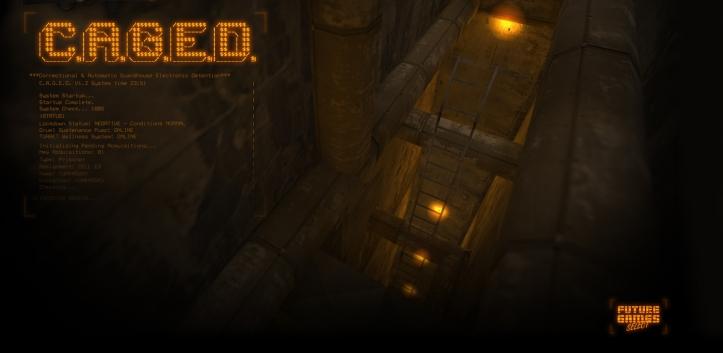 Menu background of Half-Life: C.A.G.E.D.