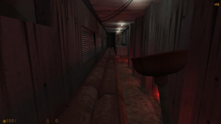 Screenshot from Half-Life: C.A.G.E.D.