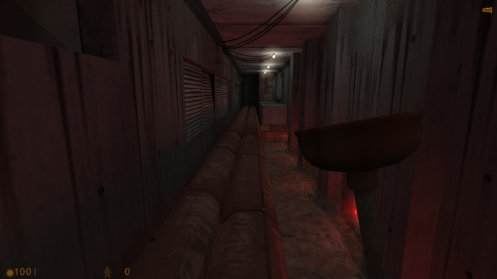 Screenshot from Half-Life: C.A.G.E.D.