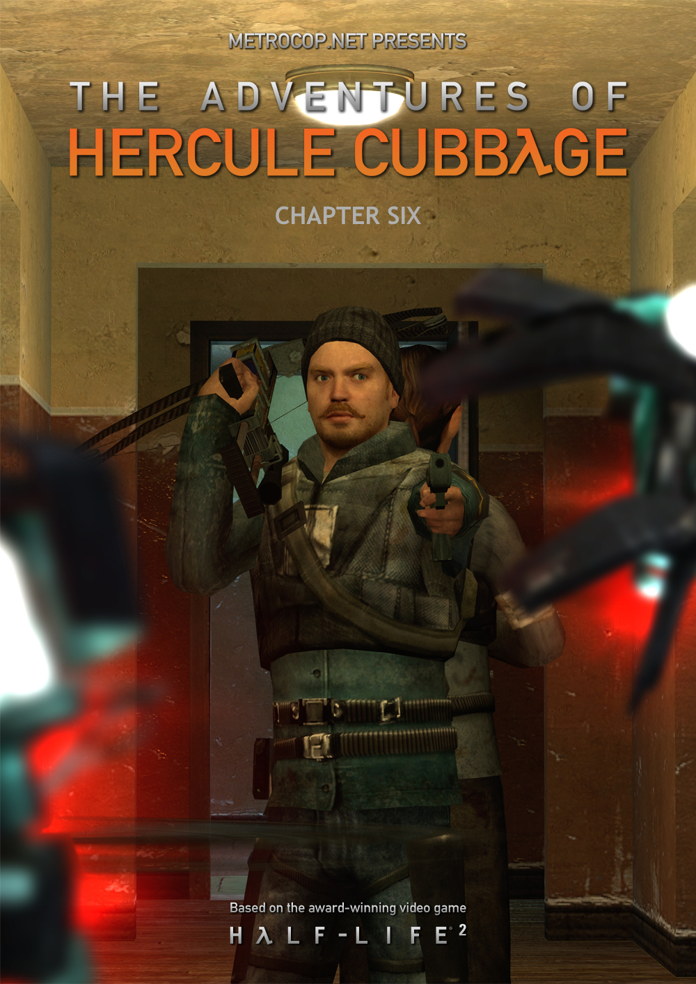The Adventures of Hercule Cubbage: Chapter Six Cover