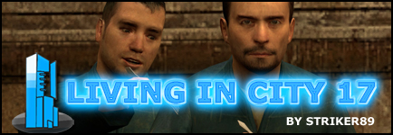 Living in City 17 Banner