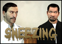 About - Sneezing